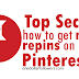 Buy Pinterest Repins For $1 [Guaranteed Service]