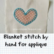 http://projectsbyjane.blogspot.sg/2014/06/hand-applique-using-blanket-stitch.html