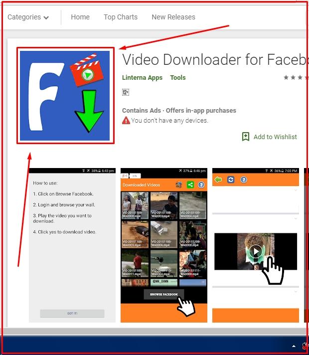Cara Download Video FB di HP Android Via Aplikasi VDFF 2019