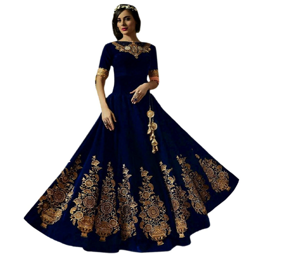 Gorgeous Party Wear Ethnic Long Gowns for Women and Girls - 99BestSales