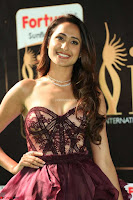 Prajna Jaiswal in a Beautiful Designer Sleeveless Shoulder less Gown at IIFA Utsavam Awards 2017  Day 2  Exclusive 03.JPG