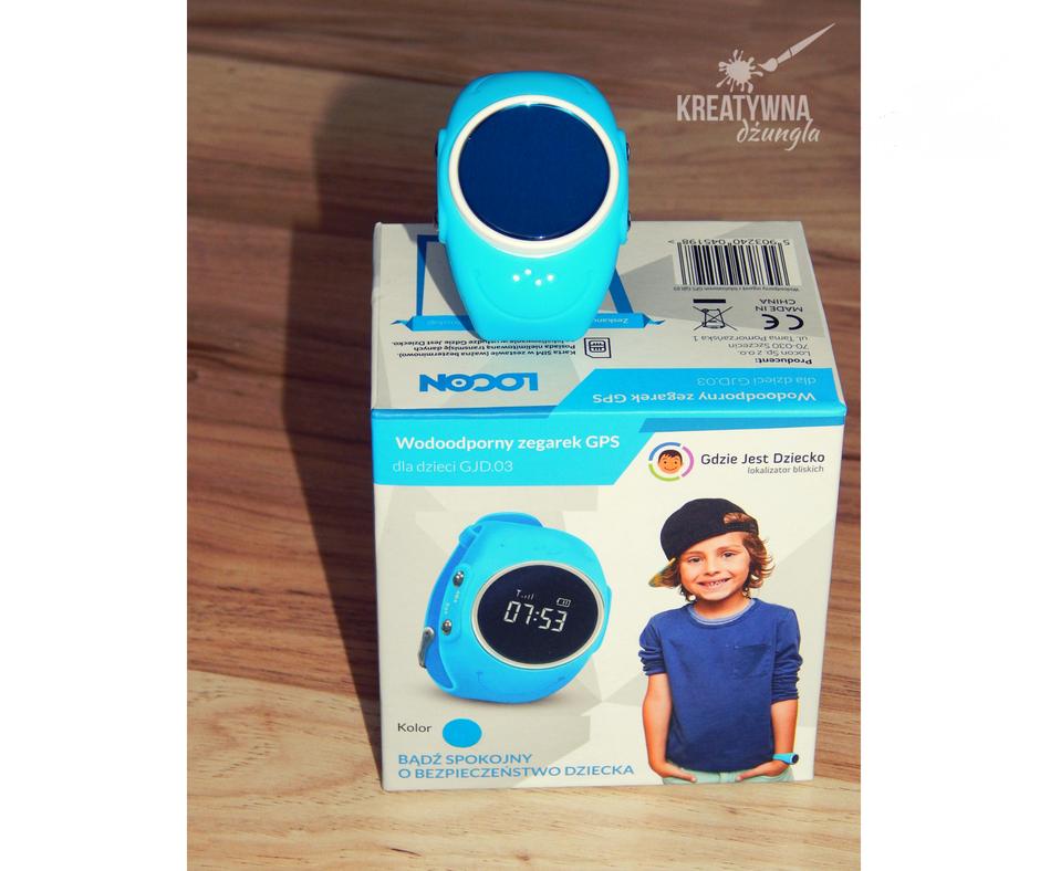 smartwatch locon wodoodporny