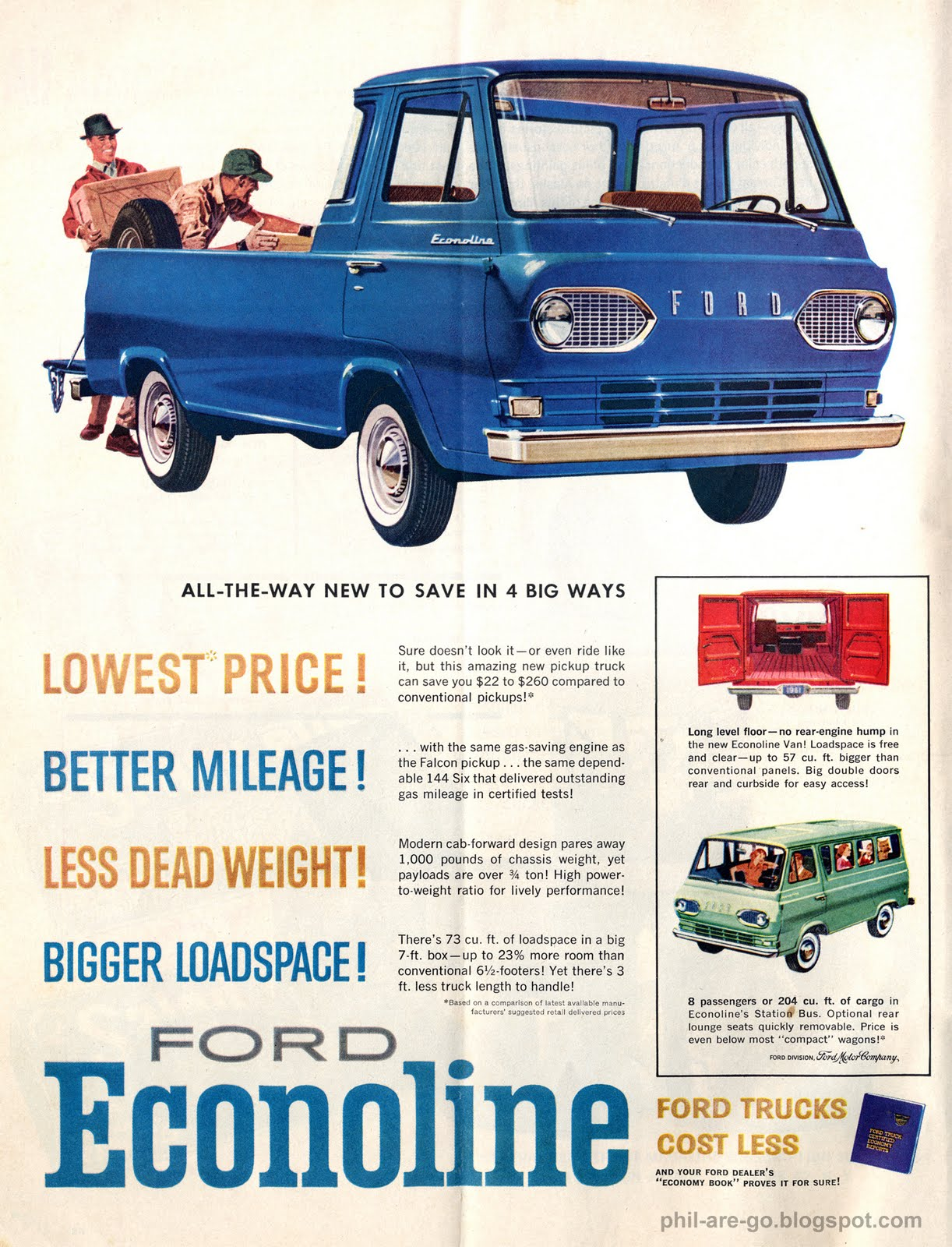 Phil Are Go 1961 Ford Econoline Be Mine 1967 Parts