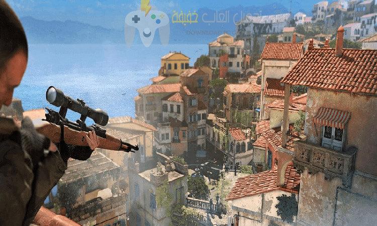 تحميل لعبة سنايبر Sniper Elite 4 مضغوطة برابط مباشر للكمبيوتر