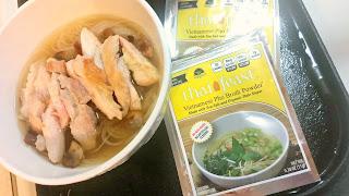 Gluten Free Chicken Pho dinner