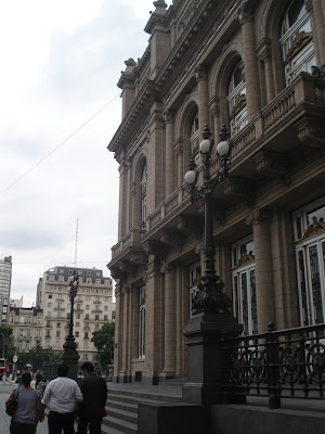 Lateral do Teatro Colon