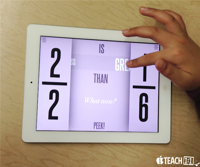 Free Fraction iPad Apps & Activities. I've compiled my favorite resources and freebies I've used for teaching fractions to 4th grade students. (Skills include adding and subtracting, multiplying, comparing, equivalent fractions, and fractions on a number line, etc).