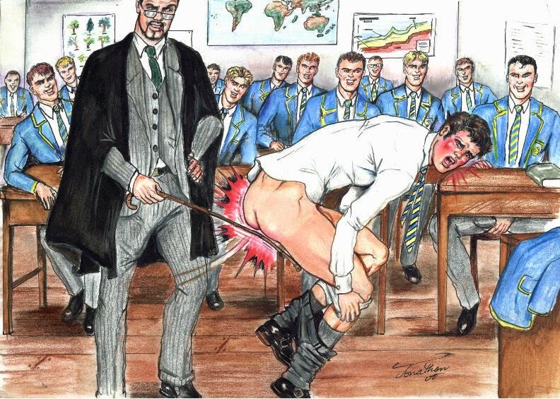 Gay male male spanking