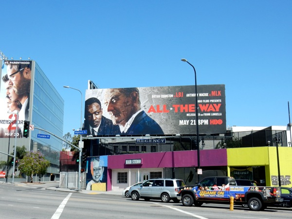 All The Way film billboard