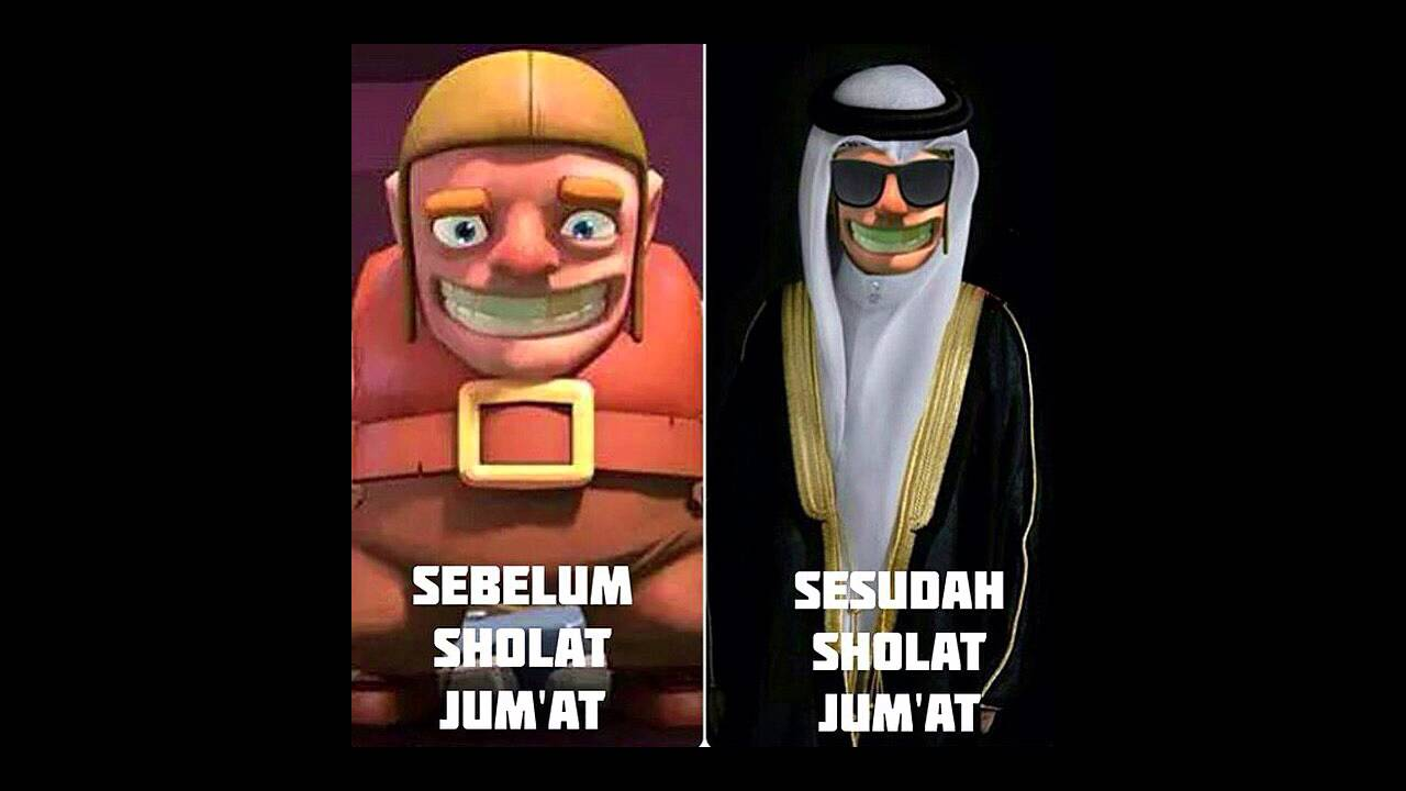 War Clash Of Clans MEME COC LUCU