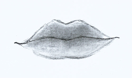 How to draw secrets for How to draw cute lips