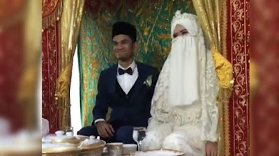 pernikahan muzzamil hasballah dan sonia ristanti