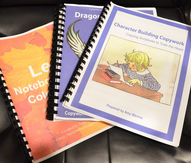 Homeschool Copywork a TOS Crew Review