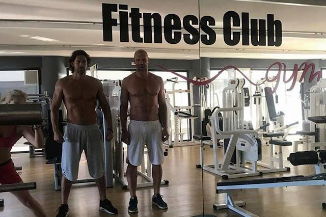"""Ο Γιάννης Σπαλιάρας """"χτίζει νέο κορμί"""" σε γυμναστήριο στο Άργος"""