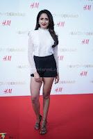 Pragya Jaiswal in lovely Black Mini Skirt and White Transparent Shirt ~  Exclusive 070.JPG