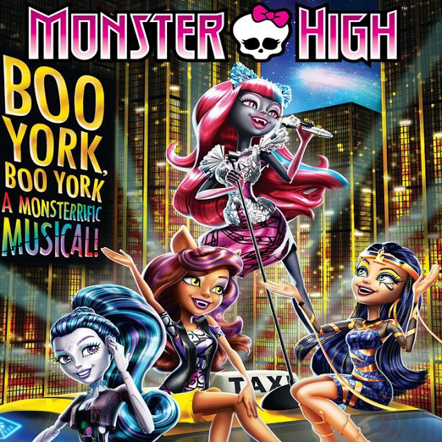 ดูการ์ตูน monster high boo york boo york มอนสเตอร์ ไฮ