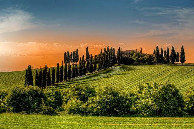 Patrimonio de la Humanidad Valle de Orcia Italia