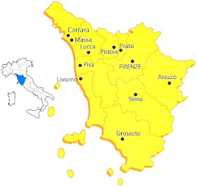 Toscana Fisica Cartina.Chi Viaggia Impara Immagini Dal Mondo Italia Toscana