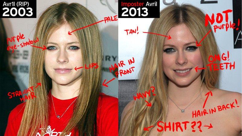 Torna Melissa, il presunto clone di Avril Lavigne (morta)
