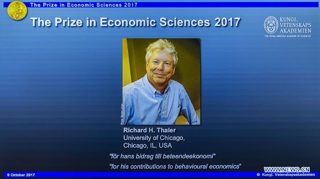 Richard H. Thaler wins 2017 Nobel Prize in Economics