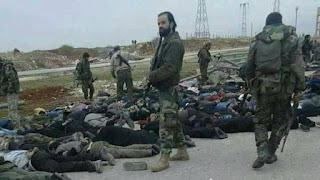 Foto Perlihatkan Milisi Syiah Hizbullah dan Iran Tahan Warga Sipil di Aleppo