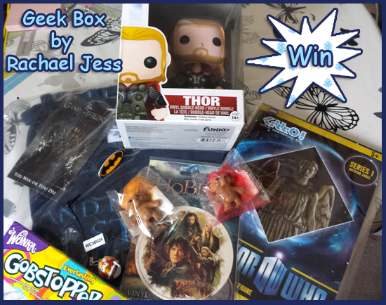Win a box load of geeky goodies with RachaelJess.com