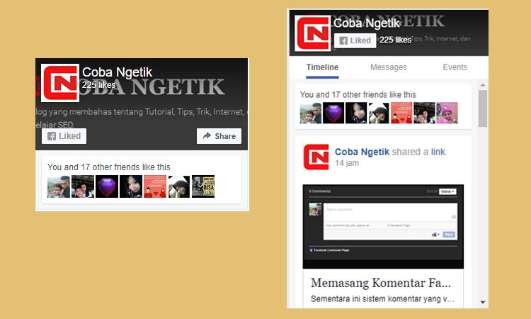 Memasang Like Facebook Pada Blog AMP HTML