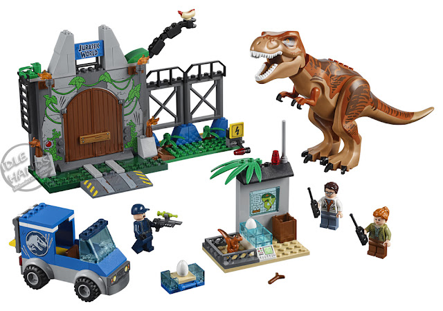 Toy Fair 2018 LEGO Juniors Jurassic World Trex Breakout