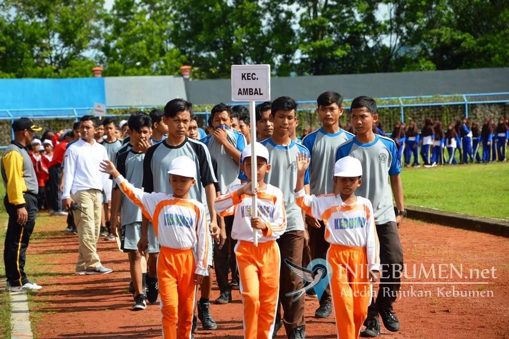 1.300 Atlet Muda Ikuti Ajang Popda Kebumen 2019