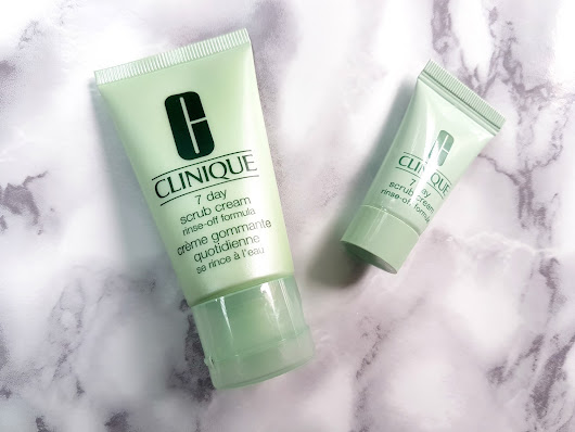According to Mimi: Sample Sunday: Clinique 7 Day Scrub Cream Rinse-Off Formula