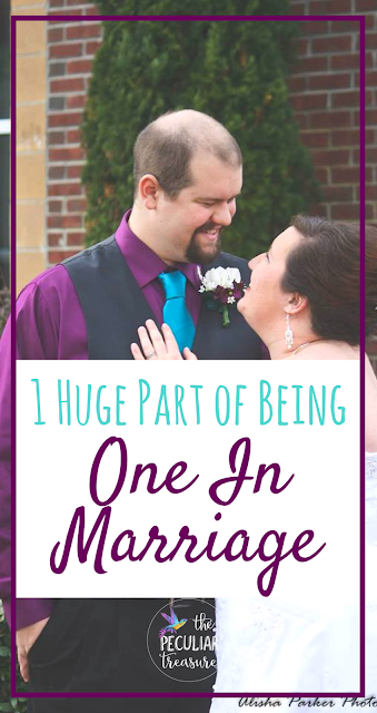 When we become one in marriage, we also agree to take on our partners problems as our own and to help them in their struggles. How can we do that? I've got some tips for you!