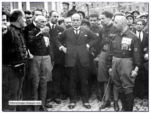 October 28 1922 March to Rome Mussolini seizes power in Italy