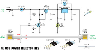 usb injector circuit