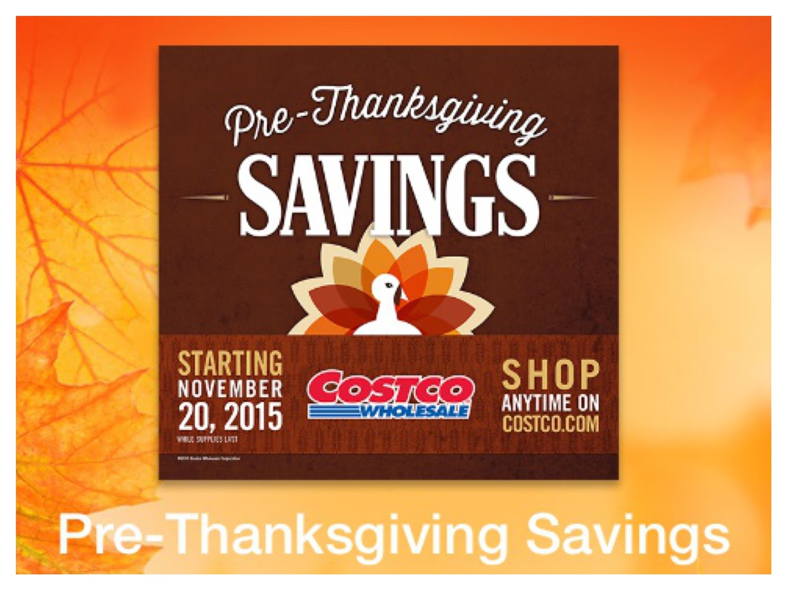 Thanksgiving with Costco! – The Costco Connoisseur