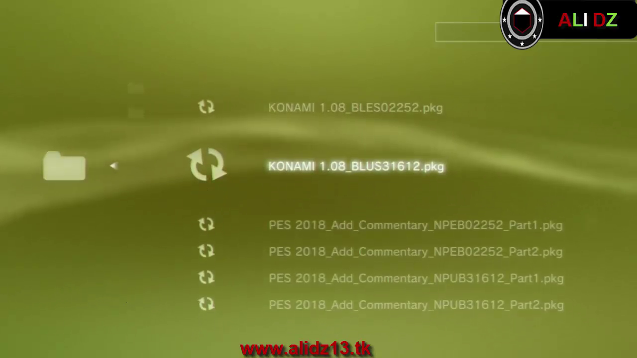 How to add Arab,Japan,China Commmentary Pes 2018PKG Ps3 OFW HAN BLES