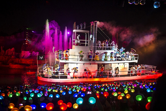 Show Fantasmic en Hollywood Studios