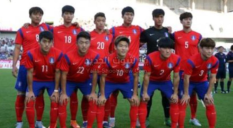 كوريا الجنوبية  فوز مثير وقاتل على منتخب الصين بهدف وحيد في كأس آسيا تحت 23 سنة