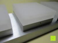 Würfel: JEKING 3-er Würfel Acryl Warmweiße LED Deckenlampe (2700-3200k) für Schlafzimmer&Esszimmer Aluminium Leuchtmittel 15W / CE Zertifizierung / 37.1 x 11.4 x 15.5 cm / 230V AC / IP 20 [Energieklasse A++] [Energieklasse A++]