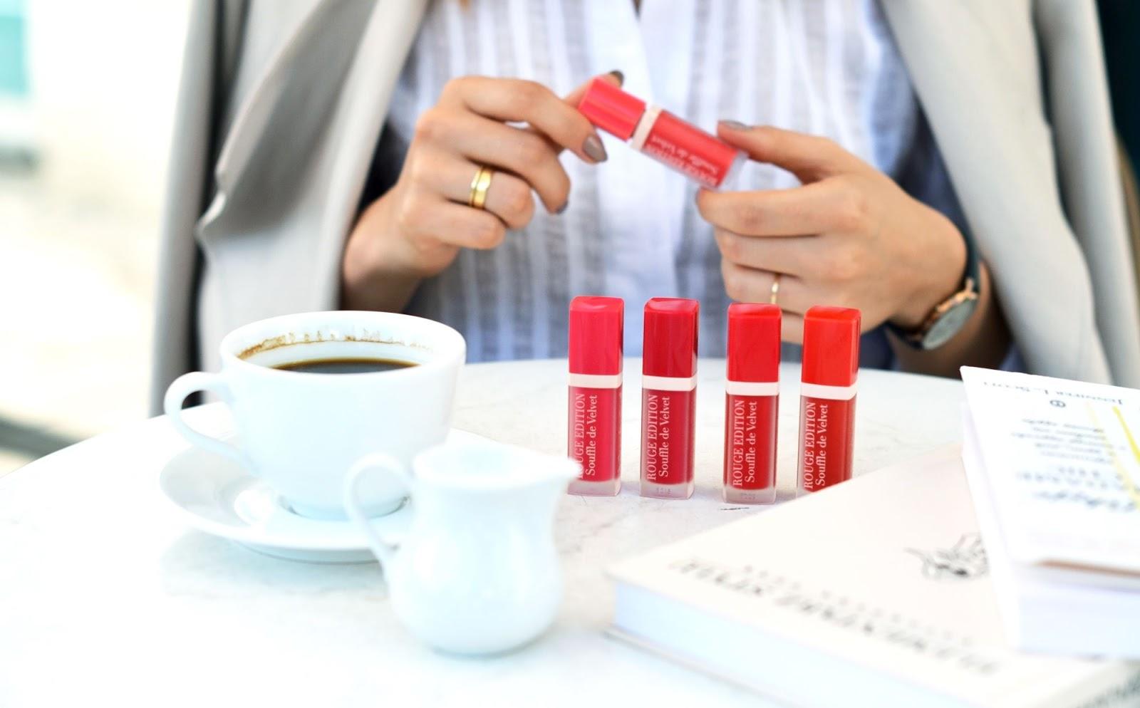 szminki souffle de velvet | pomadki | blog o urodzie