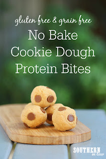 Easy No Bake Cookie Dough Protein Bliss Balls Recipe