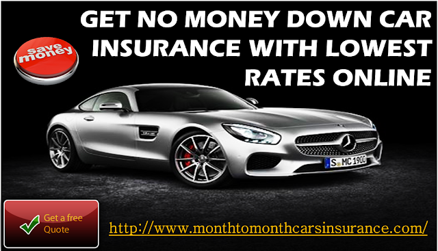 Auto Insurance No Or Zero Down Payment