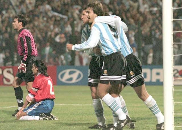 Argentina y Chile en Copa América 1995, 11 de julio