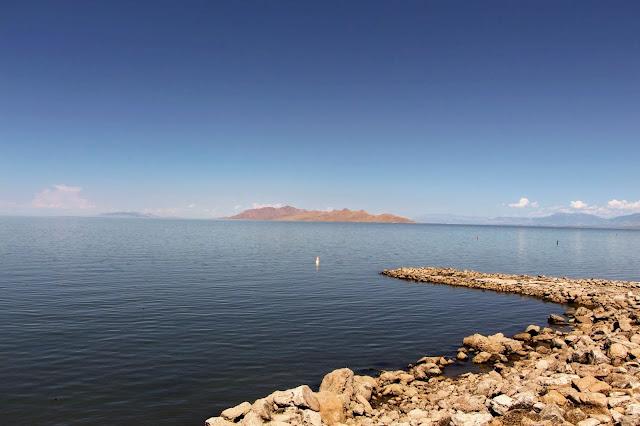 אגם המלח הגדול ביוטה