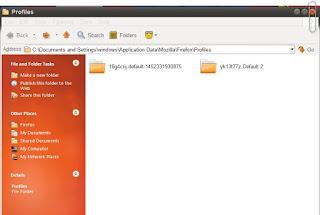 Menemukan Profil Tanpa Membuka Firefox