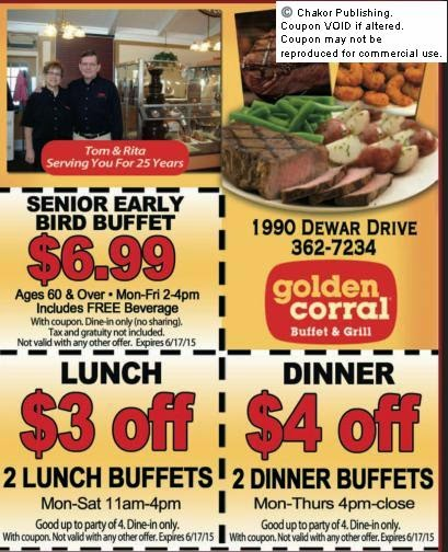 photo regarding Coupon for Golden Corral Buffet Printable identify Golden corral coupon codes orlando 2018 : Crest cleaners discount coupons