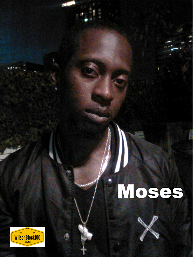 """Cincinnati Rapper """"Moses"""" Spits Verse From The Heart in this exclusive interview on WilsonBlock100 Radio"""