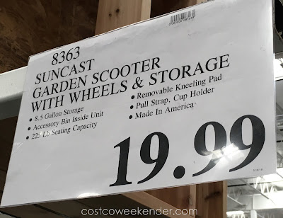 Deal for the Suncast Garden Scooter at Costco