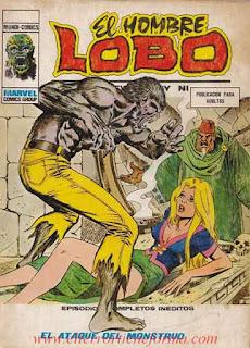 El Hombre Lobo 09 Ediciones Vertice