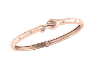 Trust Knot Bracelet  By Woven Gold