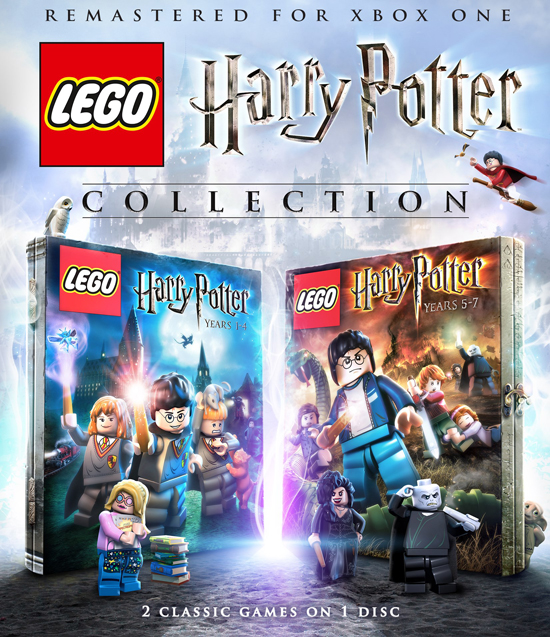 Video games: NEW remastered compilation of LEGO Harry Potter